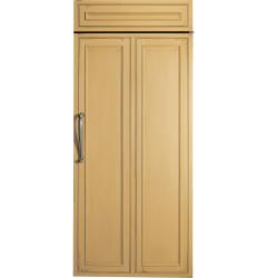 Brand: GE, Model: ZIR360NHLH, Color: Custom Panel/Hinges on Right