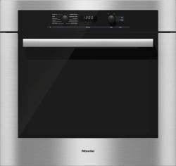 Brand: MIELE, Model: H6180BP, Color: Clean Touch Steel with ContourLine Handle