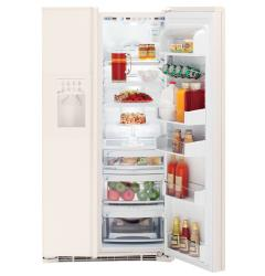Brand: GE, Model: PSH23PGRWW, Style: 22.6 cu. ft. Built-In CustomStyle Energy Star Side-by-Side Refrigerator