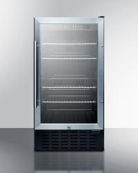 Brand: SUMMIT, Model: SCR1841SSADA, Color: Glass Door