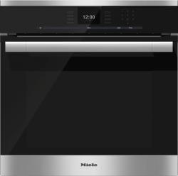 Brand: MIELE, Model: H6560B, Style: Stainless Steel, Manual Clean, Comfort Swivel Handle