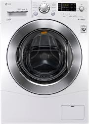 Brand: LG, Model: WM1377HW, Style: 24 Inch 2.3 cu. ft. Front Load Washer