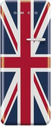 Brand: SMEG, Model: FAB28UXR, Style: Union Jack, Left Hinge Door Swing
