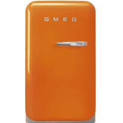 Brand: SMEG, Model: FAB5ULR, Style: Orange, Left Hinge Door Swing