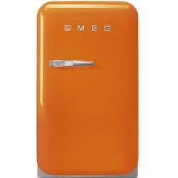 Brand: SMEG, Model: FAB5ULR, Style: Orange, Right Hinge Door Swing