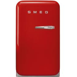 Brand: SMEG, Model: FAB5U, Color: Red, Left Hinge Door Swing
