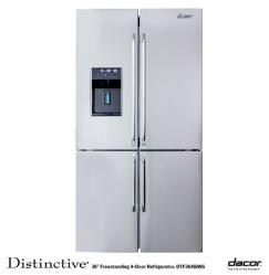 Brand: Dacor, Model: DTF364SIWS, Style: 23.4 Cu. Ft. French Door Refrigerator