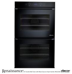 Brand: Dacor, Model: RNO230C, Style: Black Glass, Epicure Handle