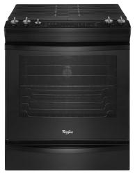 Brand: Whirlpool, Model: WEG730H0DW, Color: Black