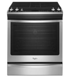 Brand: Whirlpool, Model: WEG760H0DE, Color: Stainless Steel