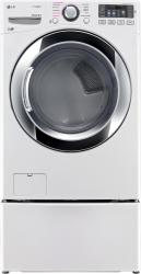 Brand: LG, Model: DLEX3370, Color: White