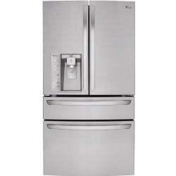 Brand: LG, Model: LMXS30746S, Style: 36 Inch French Door Refrigerator