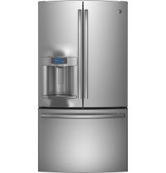 Brand: GE, Model: PFE28RSHSS, Style: 27.7 cu. ft. Bottom Mount Refrigerator