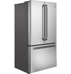 Brand: General Electric, Model: CWE23SSHSS, Style: 36 Inch Counter Depth French Door Refrigerator