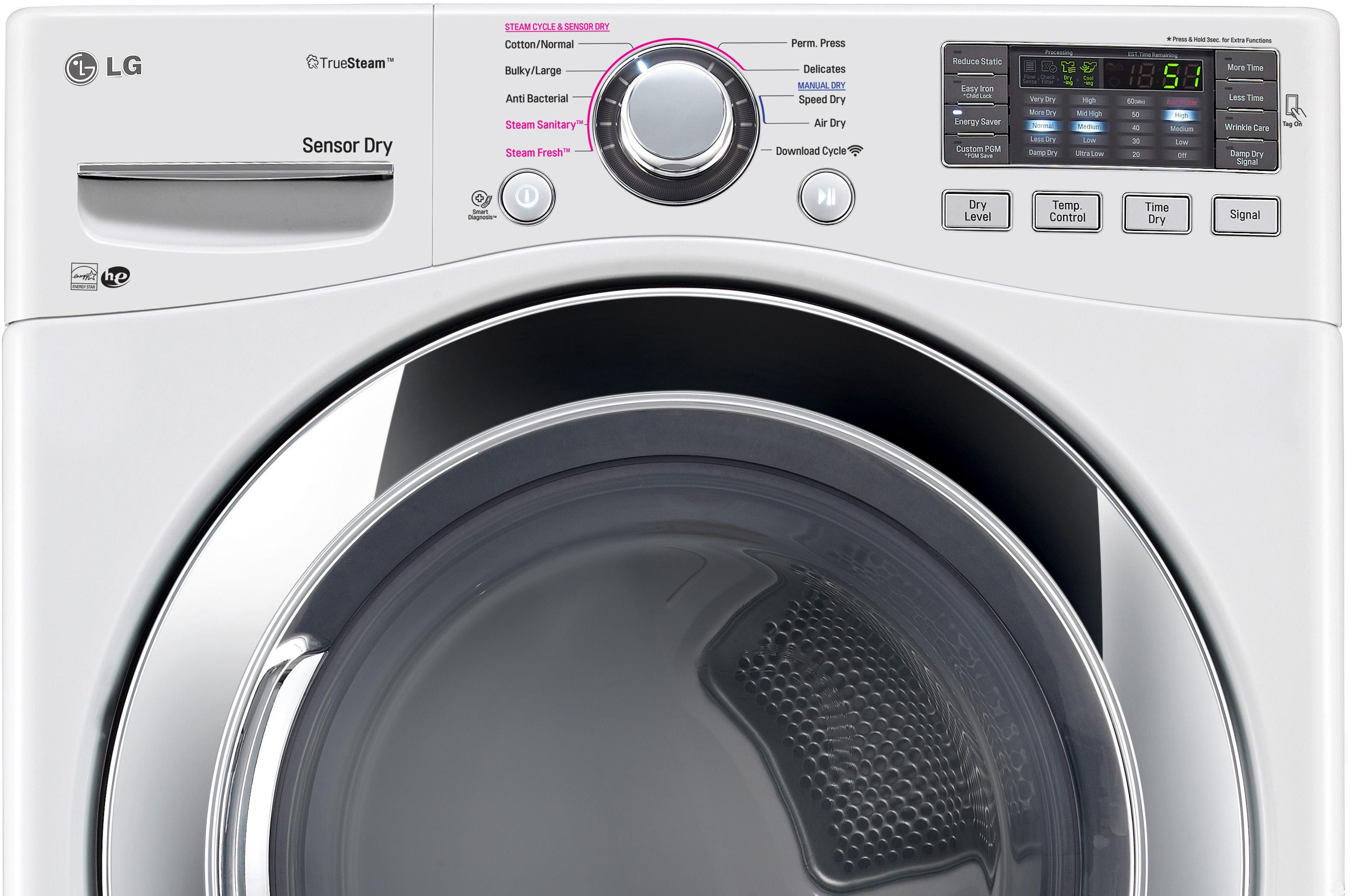 Dlex3370 Lg Dlex3370 Electric Dryers