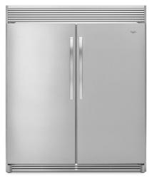 Brand: Whirlpool, Model: WSZ57L18DM, Color: Stainless Steel