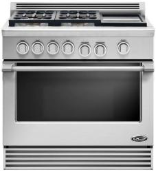 Brand: DCS, Model: RGV364GDL, Style: Stainless Steel, Liquid Propane, Griddle