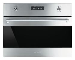 Brand: SMEG, Model: SU45VCX1, Style: 24 Inch Electric Speed Oven