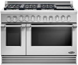 Brand: DCS, Model: RDV486G, Fuel Type: Stainless Steel, Natural Gas, Griddle