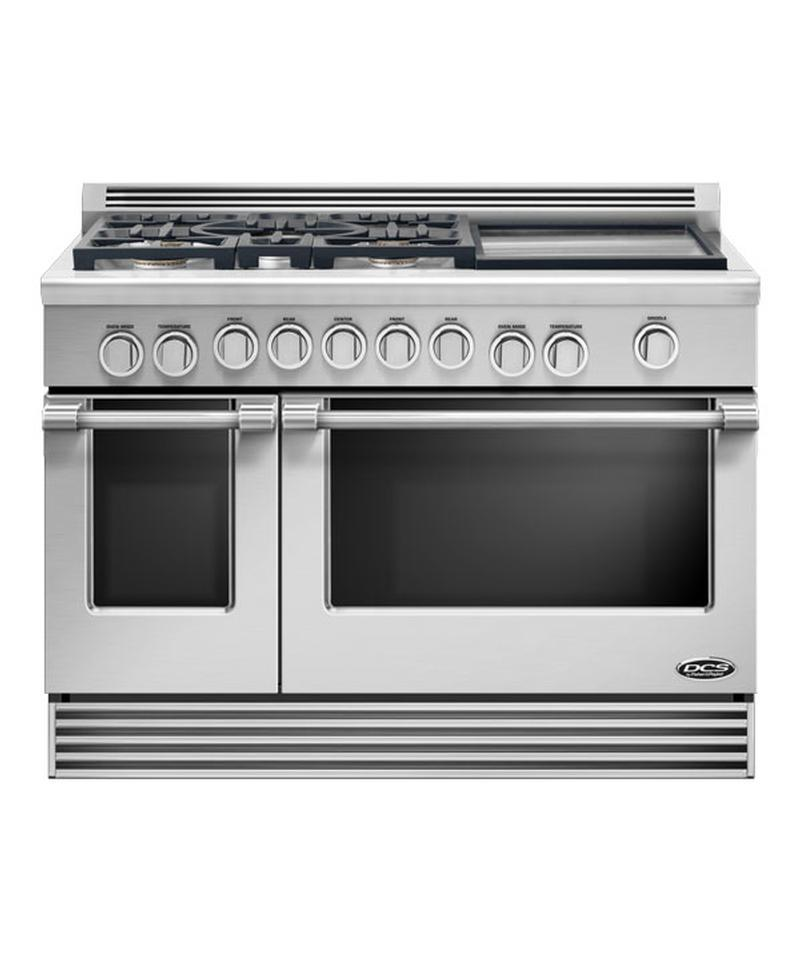 Dcs Outdoor Rgv485gdl 48 Quot Pro Style Slide In Gas Range