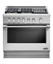 Brand: DCS, Model: RDV364G, Fuel Type: Stainless Steel, Natural Gas, Grill