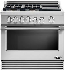 Brand: DCS, Model: RDV364GDN, Fuel Type: Stainless Steel, Liquid Propane, Griddle