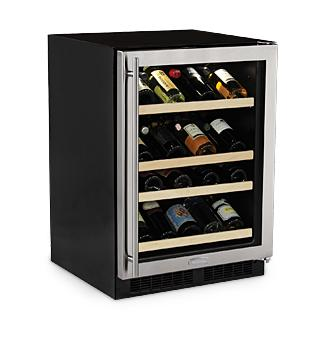 Marvel Ml24wsg1ls 24 Inch Built In Wine Storage With 27