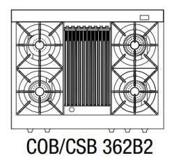 Brand: Capital, Model: COB362B2CC