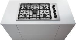Brand: Frigidaire, Model: FGGC3645KW, Color: Stainless Steel