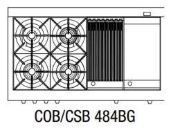 Brand: Capital, Model: COB484BBSSL