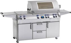 Brand: Fire Magic, Model: E790S4, Fuel Type: Natural Gas, Double Side Burner, Magic View Window in Lid