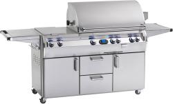 Brand: Fire Magic, Model: E790S4, Fuel Type: Natural Gas, Double Side Burner, 1 Infrared Burner