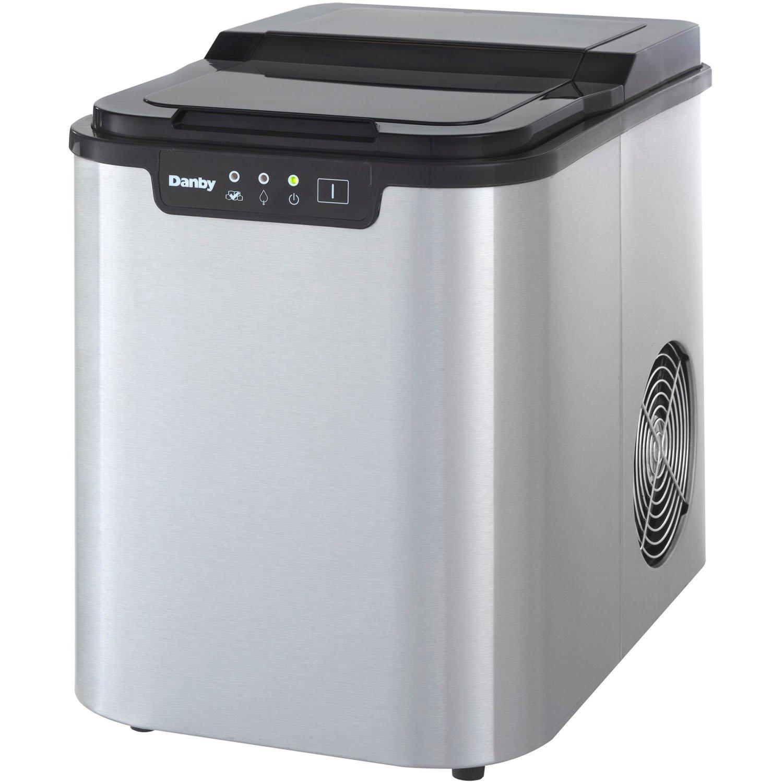 Samsung Countertop Ice Maker : DIM2500WDB Danby dim2500wdb Ice Makers White