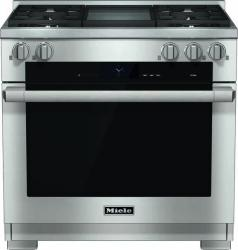 Brand: MIELE, Model: HR1936DFGDX, Fuel Type: Liquid Propane