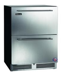 Brand: PERLICK, Model: HA24RB3DRAWERS, Color: Stainless Steel