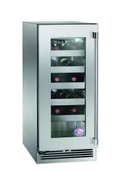 Brand: PERLICK, Model: HP15WS33L, Style: Stainless Steel-Glass, Right Hinge Door Swing