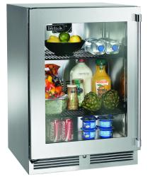 Brand: PERLICK, Model: HP24RS34L, Style: Stainless Steel-Glass, Left Hinge Door Swing