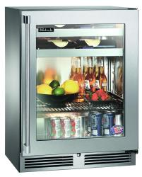 Brand: PERLICK, Model: HH24BS3, Style: Stainless Steel-Glass, Left Hinge Door Swing