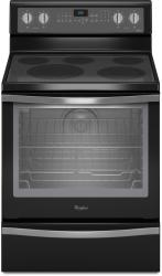 Brand: Whirlpool, Model: WFE715H0E, Color: Black with Silver Handle