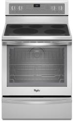 Brand: Whirlpool, Model: WFE715H0E, Color: White with Silver Handle