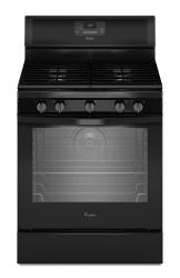 Brand: Whirlpool, Model: WFG540H0EB, Color: Black