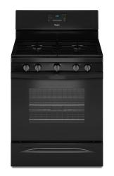 Brand: Whirlpool, Model: WFG530S0E, Color: Black