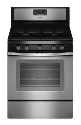 Brand: Whirlpool, Model: WFG530S0E, Color: Stainless Steel