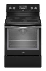 Brand: Whirlpool, Model: WFE540H0EW, Color: Black with Silver Handle