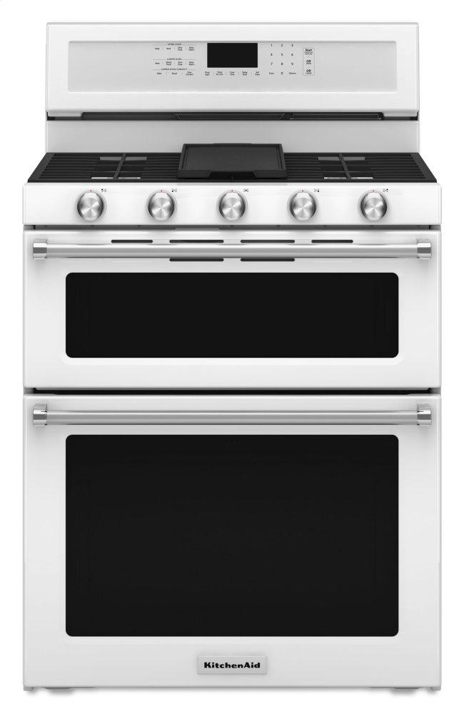 Kitchenaid 30 Inch Freestanding Gas Double Oven