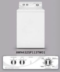 Brand: SPEED QUEEN, Model: AWN432SP113TW01