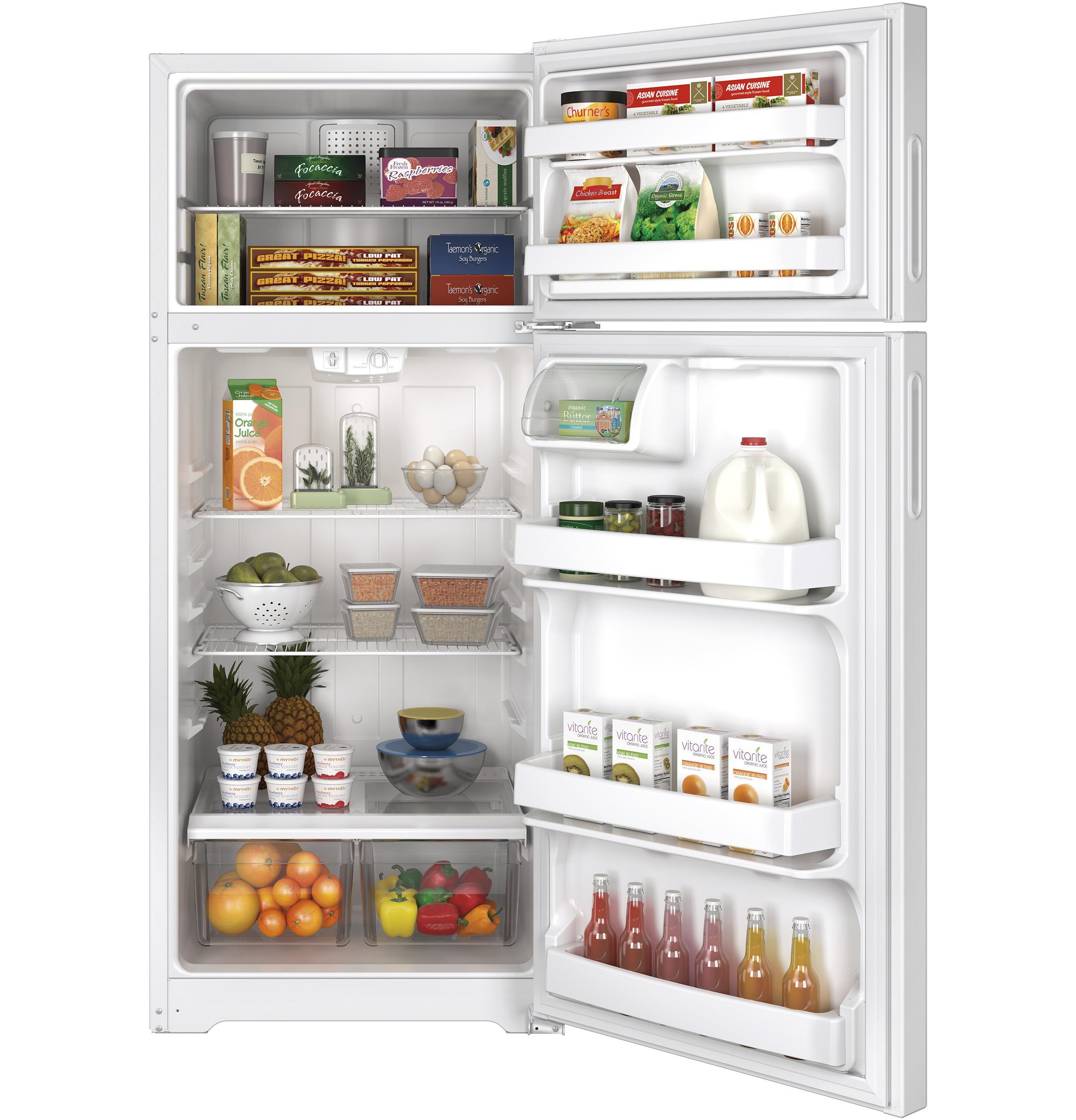 Hps18bth Hotpoint Hps18bth Top Freezer Refrigerators