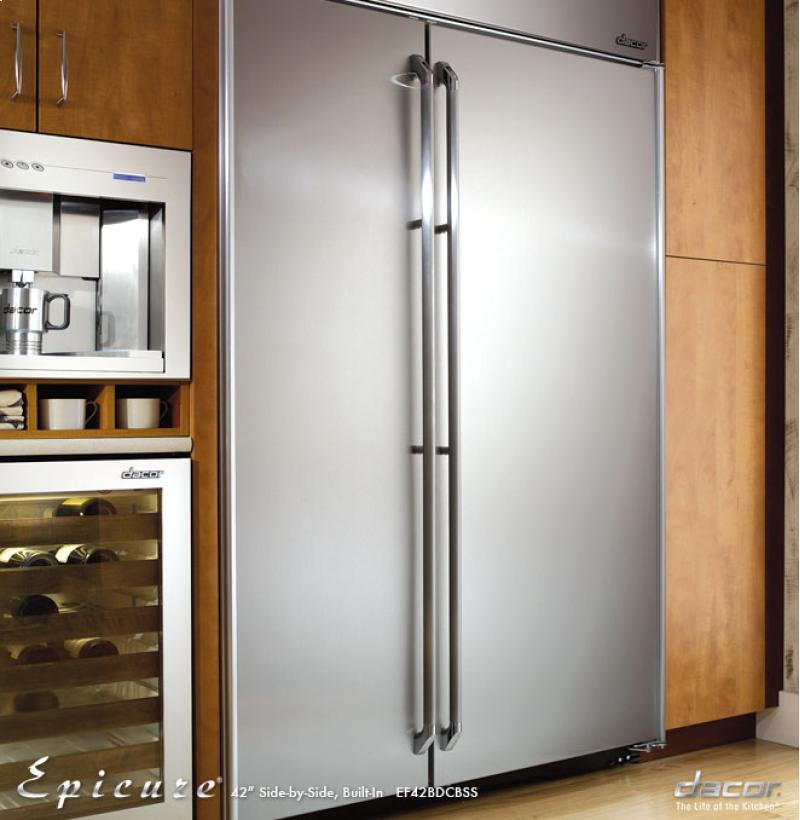 Ef42bdcbss dacor ef42bdcbss epicure for Dacor 42 refrigerator