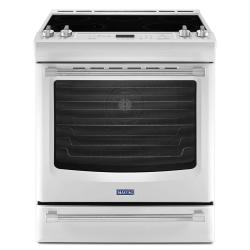 Brand: MAYTAG, Model: MES8880DE, Color: White Ice