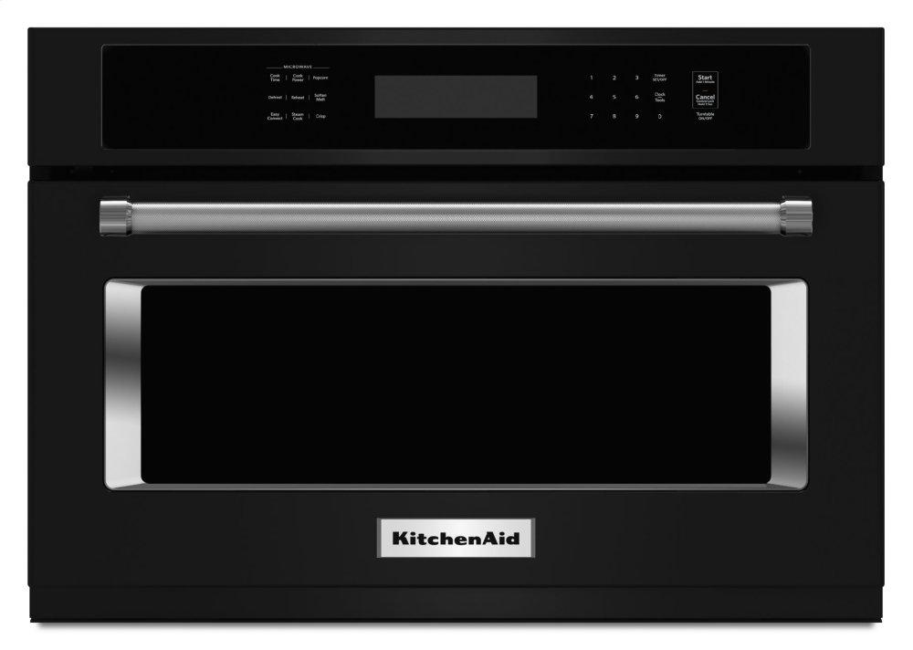 Kitchenaid Kmbs104ebl 24 Inch Built In Microwave Oven Black